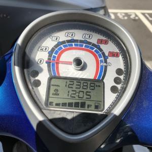 コロナウイルス休校明け始業日に今度はバイクMii110のバッテリー上がり
