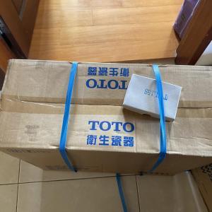 TOTO製洗面台2台の設置工事