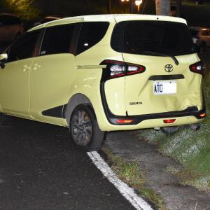 【悲報】今度はシエンタがホテル駐車中に大激突されバックドア大破~3泊4日南部旅行2日目