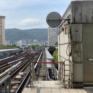【動画】1駅だけの盲腸線MRT新北投支線乗って新北投へ