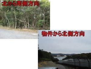 志摩市阿児町国府350万円海抜20mあり、国府白浜近く太平洋が見えます