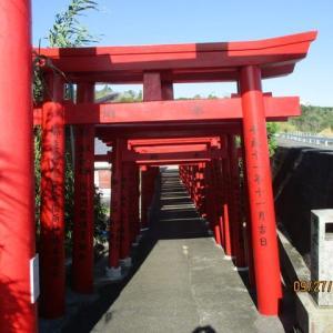 志摩市志摩町片田麦崎灯台周辺から片田稲荷神社までの紹介
