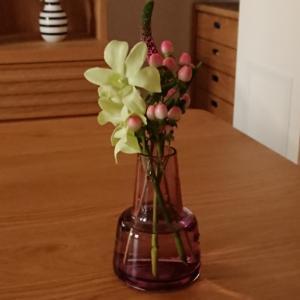 届いたお花と楽天お買い物マラソン