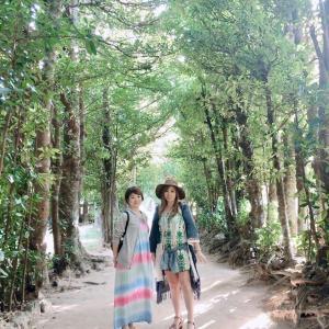 ☆まーちゃんとスピリチュアル沖縄旅④2日目フクギ並木とCAHAYA BULAN