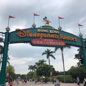 まーちゃんと友達に会いに香港へ⑨久子とまーちゃんと香港ディズニーランドへ