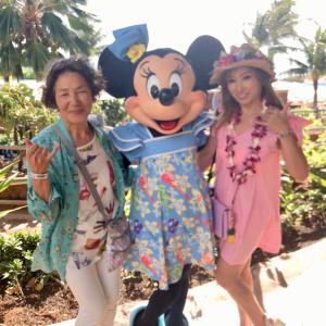 ♡50th Anniversary Hawaii 2018*35ミッキー&ミニープールパーティー