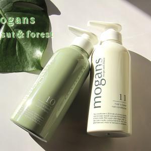 森のうるおいで髪しっとりまとまる♥mogansシャンプー&コンディショナ(モイスト&フォレスト)