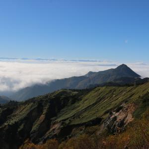 志賀高原旅行記1:横手山から雲海他