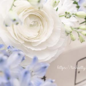 今週を飾るお家花は。。☆