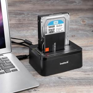 複数のHDD接続の必須アイテム♪『Inateck HDDスタンド USB3.0接続 2.5型/3.5型 SATA HDD/SSD対応』