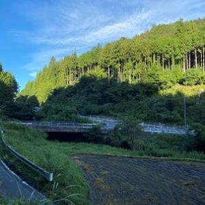 朝の澤ノ堂集落