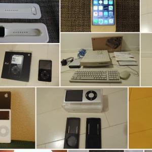 【ヤフオク出品履歴: Apple製品】Macintosh, iPod, iPad, iPhoneからAppleTV, AppleWatchまで