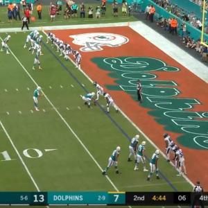 【NFL2019】こんなプレーコール見たことない!DolphinsのFake Field Goal