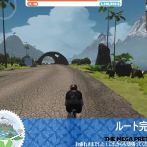 [Zwift The Mega Pretzel] ムリのないペースで走れば107km 1639mも快適に走れる!