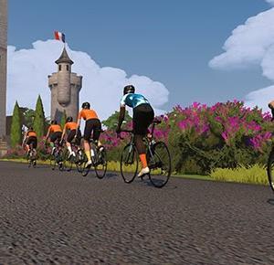 [Virtual Tour de France - Stage 3 Discovery Ride] ツール・ド・フランスのコースをズイフトで実走