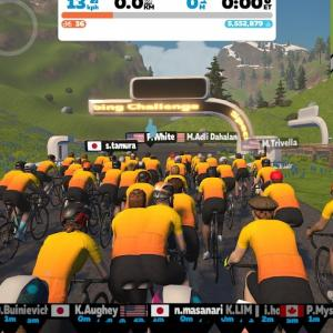 [Specialized Roval Climbing Challenge (A) - Road To Sky] 大人気グループライドでAlpe du Zwiftの自己ベスト更新に挑戦