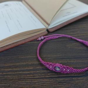 Macrame Jewelry  カイヤナイト