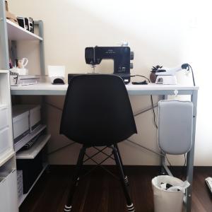 【自宅収納】毎日使う裁縫グッズはセリア収納グッズでシンプルに見せる収納。
