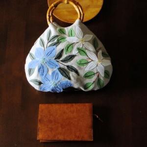 刺繍 - Flower Applique Bag : 完