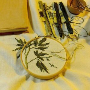 刺繍 - Pivoine