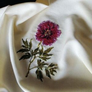 刺繍 - Pivoine:刺し終わり
