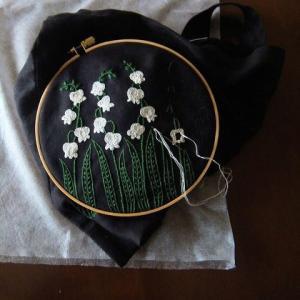 刺繍 - Lily of valley 1/4