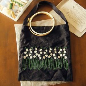 刺繍 - Lily of valley 1/2