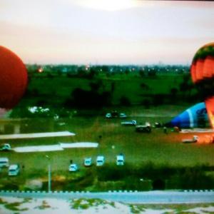 エジプトでの気球墜落事故