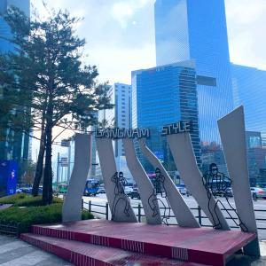 週末は21年振りにソウル・江南(カンナム)へ
