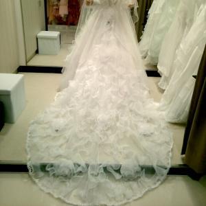 結婚式のドレス選び♪