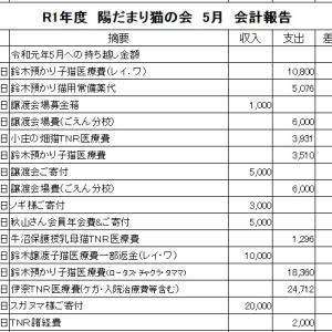 R1 年  5月 会計報告