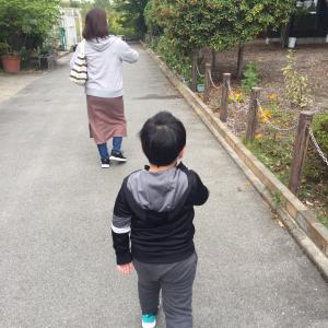 柊太のブランコデビュー(ちょっとレイヤーの血が騒ぐ!)