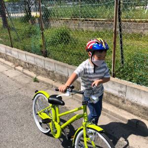 柊太初めての自転車