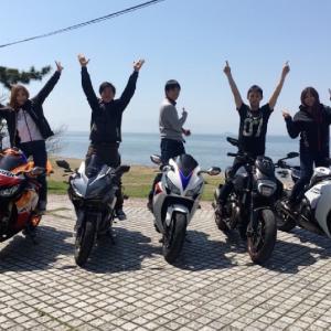 今年初ツーリングはゆるり琵琶湖