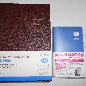年の初めに新たに開く日記帳