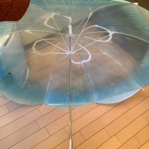クラゲ模様の傘です