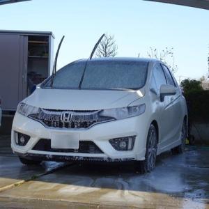 ケルヒャーで洗車