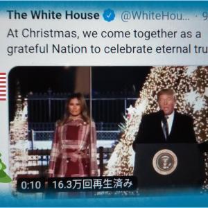 【クリスマスツリー点灯式 】President Trump Delivers Remarks  at the National Christmas Tree Lighting Ceremony