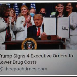 【命を救う薬の価格引き下げ】 President Trump Delivers Remarks and Signs Executive Orders on Lowering Drug Prices
