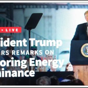 【国を愛する 共和党トランプ大統領】President Trump Delivers Remarks on Restoring Energy Dominance in the Permian Basin