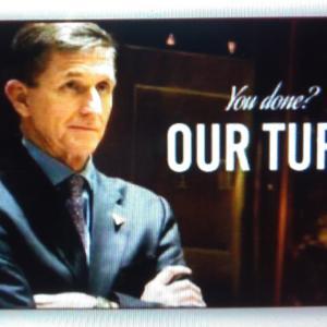 【自由を勝ち取りました!!】Congratulations, Gen Flynn!!