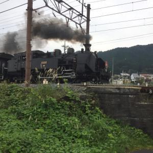 東武日光駅に蒸気機関車が旅客輸送を開始です。