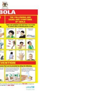ウガンダ保健省のリスコミ(識字率によらず伝わる画)