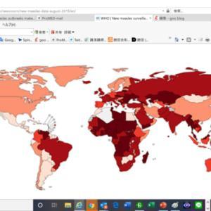 WHOから麻疹の新たなサーベイランス、06年以来最高になってしまった今年