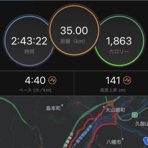 大阪マラソン2週間前の35kmペース走