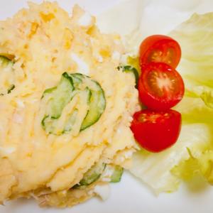 久しぶりにポテトサラダを作ってみた(*^^*)