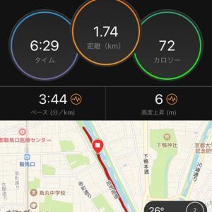 妄想のキロ3ダッシュ(セプ駅伝)