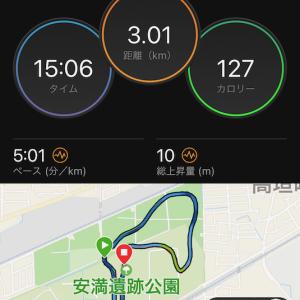 マラソン練習開始〜まずは閾値層(*^^*)