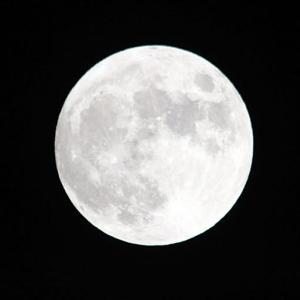 満月(2021年10月20日)
