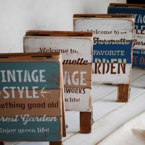 *A型サインボードなど木工品いろいろ販売いたします*